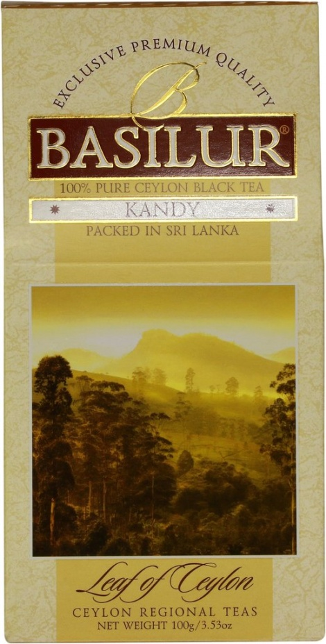 Black Tea with bergamot KANDY - 100g