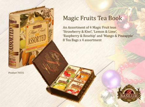 MAGIC FRUITS ASSORTED tea book