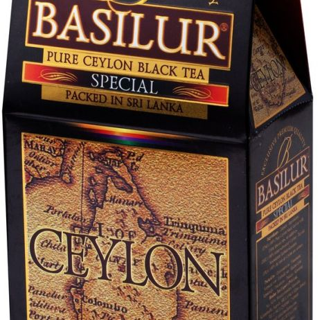 Basilur Island of Tea Special - Pure Ceylon Black Tea (FBOPF1) 100g