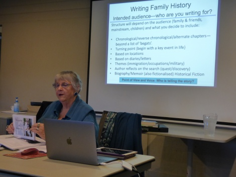 Family History Workshop at Young
