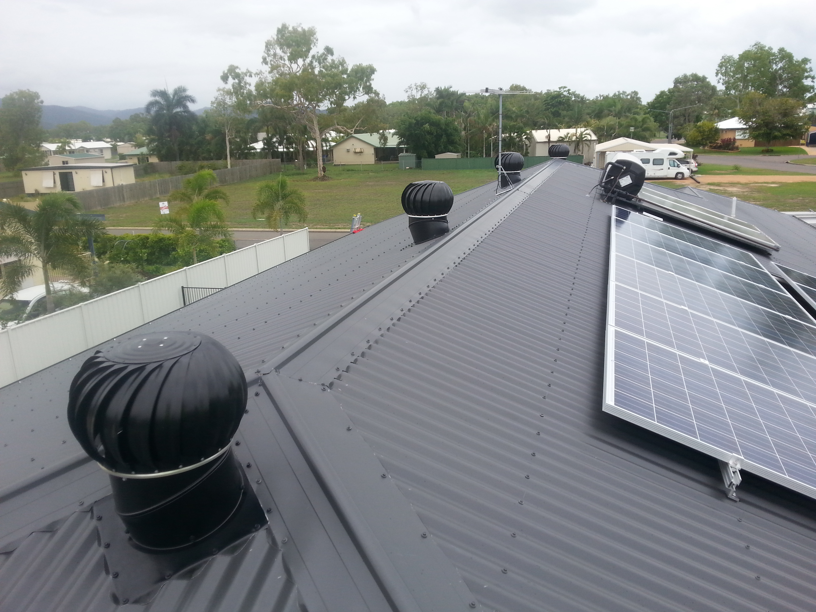 Whirlybird Roof Vents : Roof vent whirlybird supply installation stephen