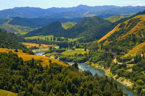 WHANGANUI: RIVER AND SETTLEMENTS