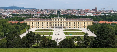 VIENNA AND THE RIVER DANUBE