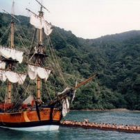 James Cook in New Zealand 1769