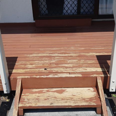 Deck - before