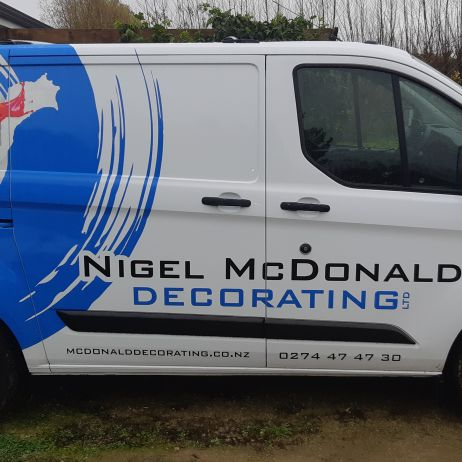Van signwriting 2