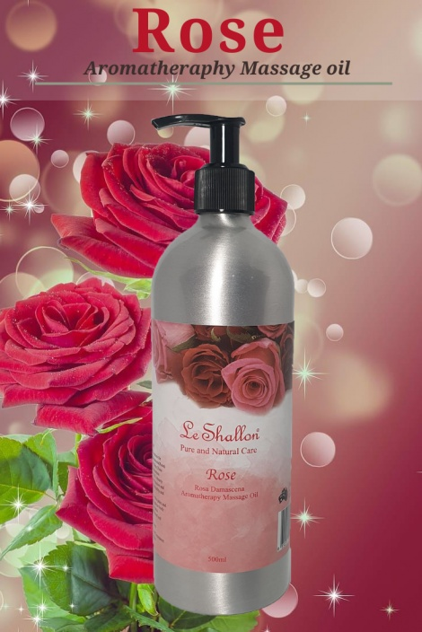 Rose Otto Massage Oil