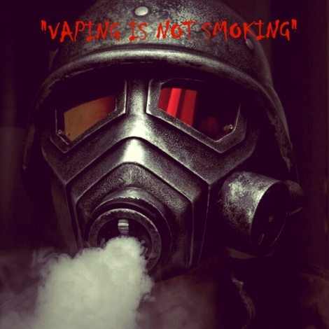 Vaping's Not Smoking