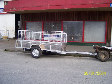 Trailer Single Axle 2.7 x 1.3
