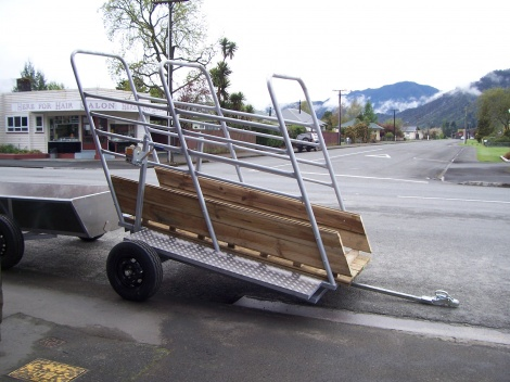Load out ramp