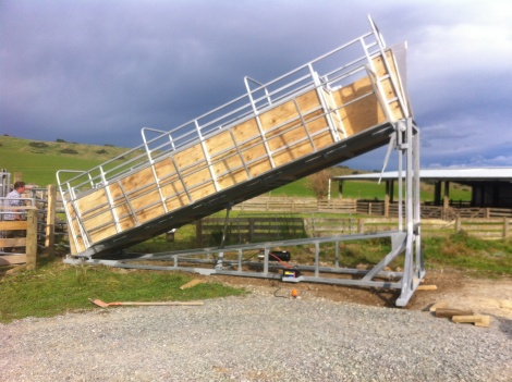 Hydraulic Cow Loading Ramp