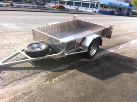 Single Axle Trailer 6 x 4