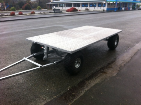 3m x 1.5m Flat Deck Calf Trailer