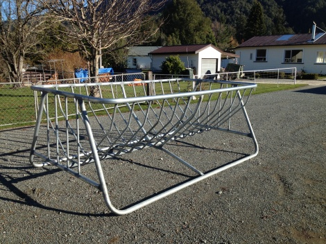 Double Hay Feeder Cradle for Sheep
