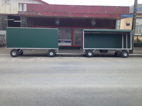 Covered ATV Trailer 3.3m x 1.4m