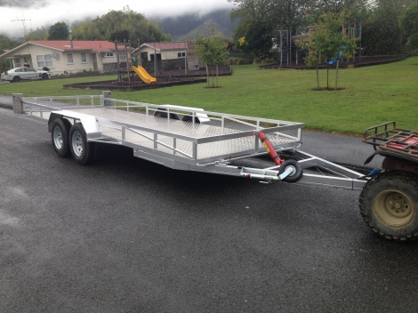 Semi Tipping trailer 6m x 1.9m
