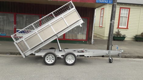 Tandem Axle Tipper 9 x 5, Alloy Crate