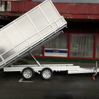 3.6m x 2m Tip Trailer Alloy Crate