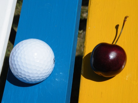 Cherries as big as golf balls? Almost!