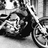 VROD MUSCLE TRASK TURBO