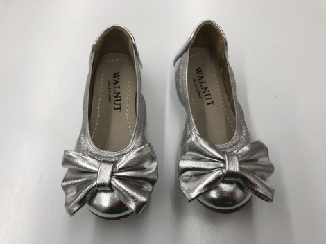 WALNUT CATIE PARTY BOW SHOES
