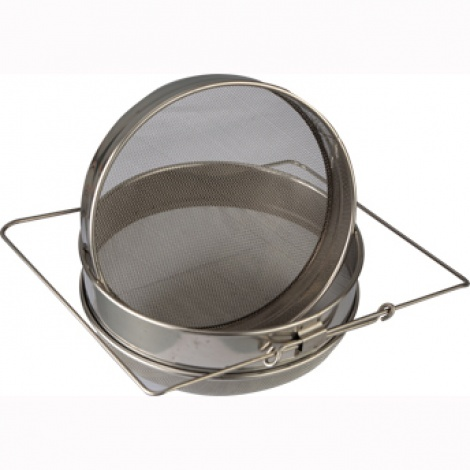 Double Layers 304 Stainless Steel Honey Strainer / Filter
