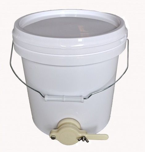 Food Grade Plastic Honey Bucket With Honey Gate 15L