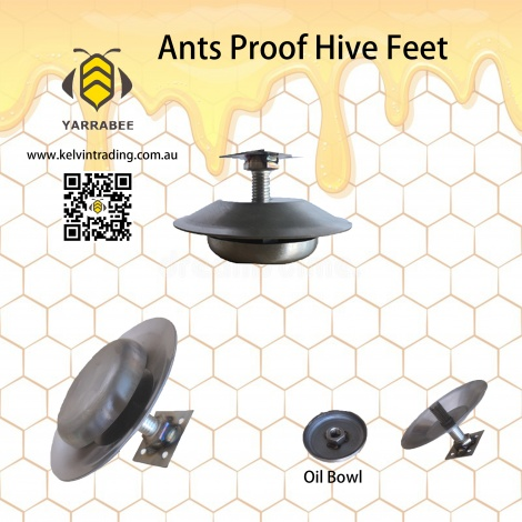 Ants-proof hive feet x 4 pcs