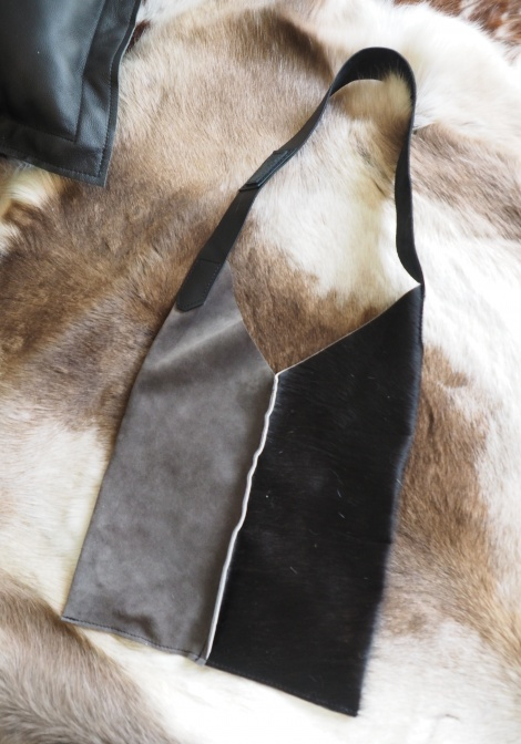 Black & Grey, Style & Function pure & simple - A beautiful Tasmanian made Slouch Bag