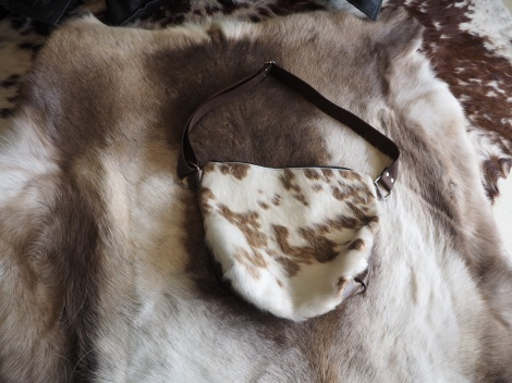 Unique, Individual & Totally Beautiful - A Wonderful Handmade In Tasmania Cowhide Leather Bag