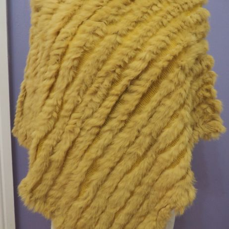 Citrine Yellow - A Beautiful New Colour in our Poncho Range
