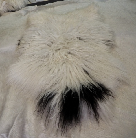 I37: A Beautiful and Unique Genuine Icelandic Sheepskin Rug - Roaming Wild & Are sins 874AD