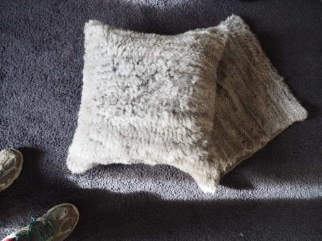 Gorgeous Natural Grey 45Cm Square Cushion Cover