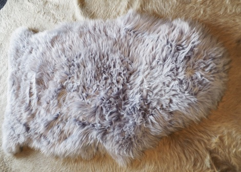 Lovely In Lilac - A Totally Gorgeous Australian Sheepskin Rug