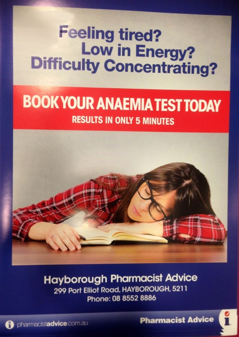 Anaemia Testing Now Available