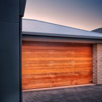 WESTERN RED CEDAR SECTIONAL GARAGE DOORS