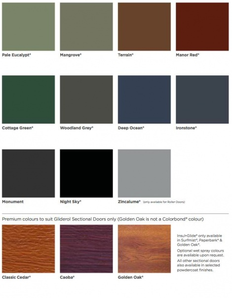 COLOUR SELECTION CHART 2.