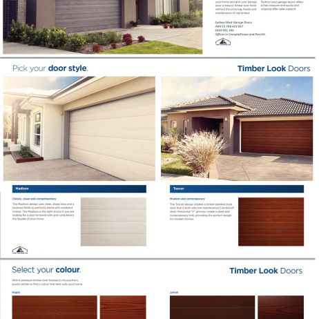 NATIVE SERIES SECTIONAL GARAGE DOORS