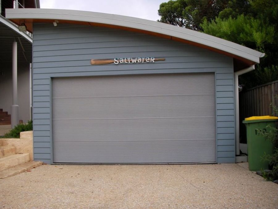 This design is constructed by using standard Galvanized Zincalume or Colourbond Miniflute inserts into our exclusive BIT frame. & The Danmar Mini Orb - DIRECT GARAGE DOORS