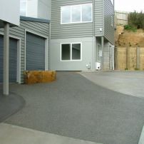 Exosed Aggregate & Plain Concrete