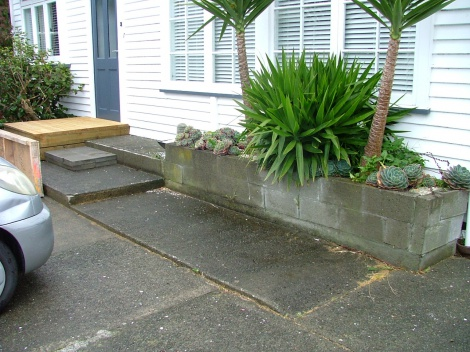 Wheelchair Ramp (Before)