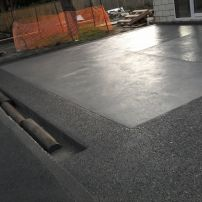 Plain Concrete With Exposed Aggregate