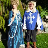 Thru The Ages -1700's Muskateer & Lady