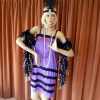 Thru The Ages - 1920's 30's Purple Flapper