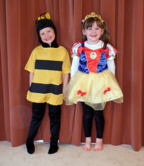 Buzzy Bee & Snow White