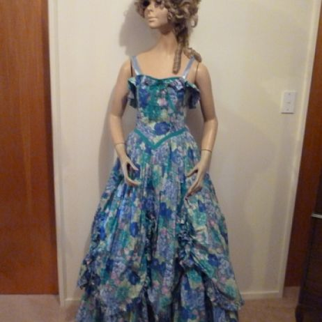 Southern Belle Floral Gown