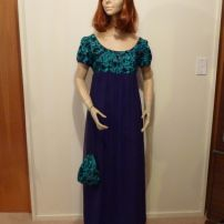 Titanic Black/Green Evening Gown