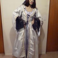 Stunning Silver Medieval Maid