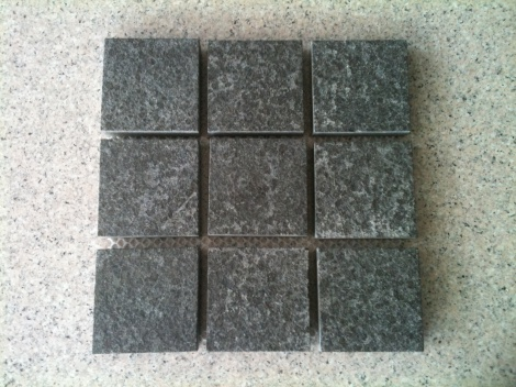 Diamond black cobble stone