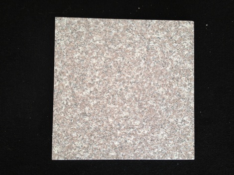 Rose Cream polished granite tile